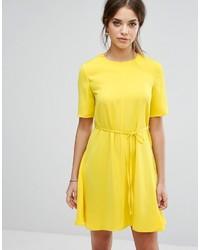 Warehouse Tie Waist Shift Dress