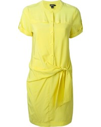 DKNY Wrap Style Shirt Dress