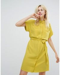 Tie waist shirt dress medium 3745136
