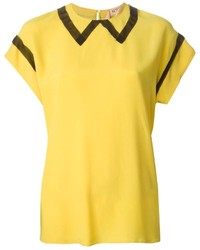 No.21 N21 Short Sleeve T Shirt Blouse