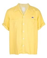 VISVIM Logo Short Sleeve Shirt