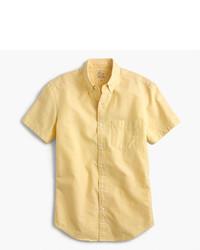 J.Crew Slim Short Sleeve Lightweight Oxford Shirt