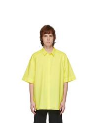 Juun.J Yellow Poplin Shirt
