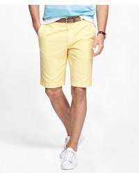 Brooks Brothers Gart Dyed 10 Bermuda Shorts