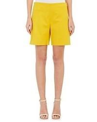 Chloé High Waist Shorts Yellow