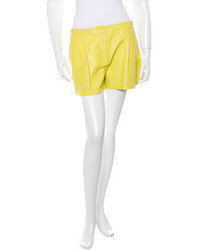 Proenza Schouler Leather Mini Shorts
