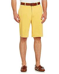 Roundtree Yorke Flat Front Chino Shorts