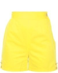 Versace Vintage Button Detail Shorts
