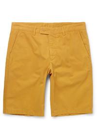 Washed cotton twill shorts medium 3690728