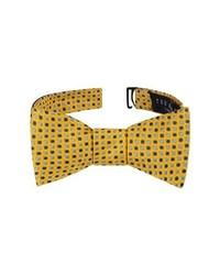 Ted Baker London Alternating Dot Silk Bow Tie