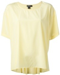 DKNY Dropped Hem T Shirt