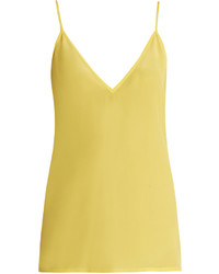 Raey Ry V Neck Silk Cami Top