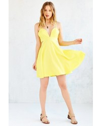 Glamorous Cutout Fit Flare Dress