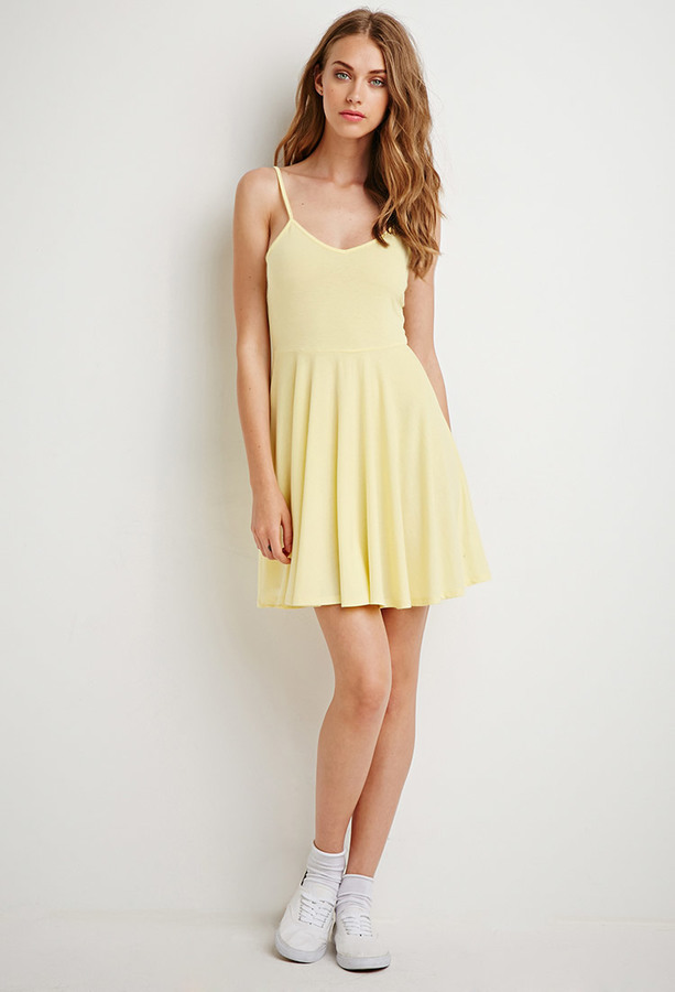 11 Forever 21 Fit Flare Cami Dress