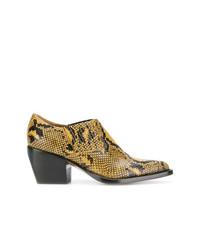 Chloé Snake Printed Boots