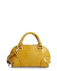 Topshop Goa Mini Embossed Bowler Bag