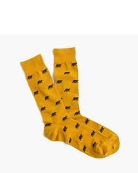J.Crew Bear Socks