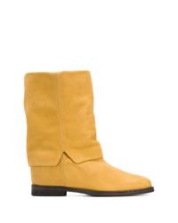 Via Roma 15 Foldover Boots