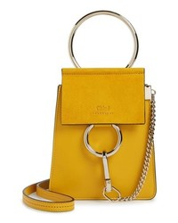 Chloé Faye Small Suede Leather Bracelet Bag