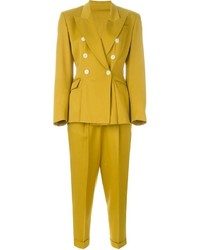 Jean paul gaultier vintage two piece trouser suit medium 716833
