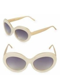 Linda Farrow 57mm Butterfly Sunglasses