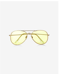 Express Aviator Sunglasses