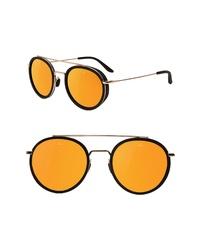 Vuarnet Edge 52mm Round Sunglasses