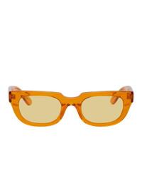 Han Kjobenhavn Orange Root Sunglasses
