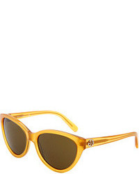 Tory Burch Ty7045 Plastic Frame Fashion Sunglasses