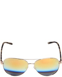 Linda Farrow Matthew Williamson Aviator Sunglasses