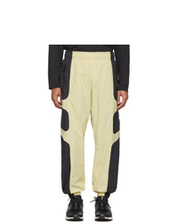 Nike Beige And Black Nsw Re Issue Track Pants