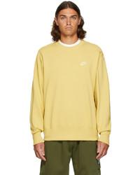 Nike Yellow Classic Sportswear Sweatshirt