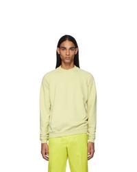 Haider Ackermann Yellow Dye Perth Sweatshirt
