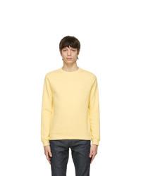 A.P.C. Yellow Item Sweatshirt