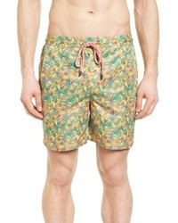 Pangea Havana Palms Roosevelt Swim Trunks