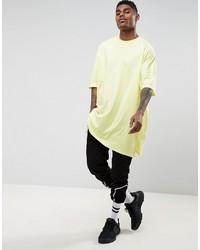 12c5f4485 Asos Extreme Oversized Super Longline T Shirt In Acid Yellow, $26 ...