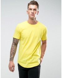 ONLY & SONS Longline T Shirt With Curved Hem