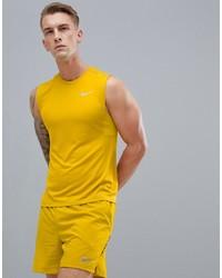 Nike Running Miler Tech Vest In Yellow 928305 392