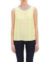 Barneys New York Shannon Tank Top Yellow