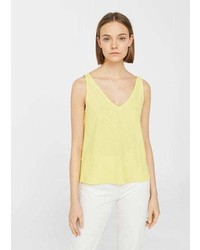 Mango Flowy Textured Top