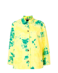 Yellow Tie-Dye Long Sleeve T-shirt