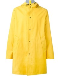 AMI Alexandre Mattiussi Classic Hooded Raincoat