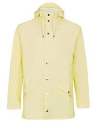 Rains Yellow Rain Jacket