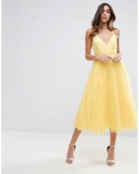 Pinny extreme tulle mesh midi dress medium 4279443