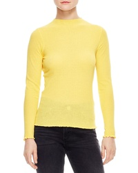 Sandro Ethan Cotton Funnel Neck Sweater