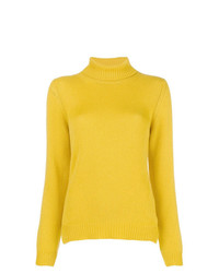 Ermanno Scervino Roll Neck Fitted Sweater