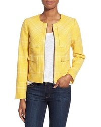 Yellow Tweed Jacket