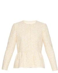 Peplum tweed jacket medium 420310