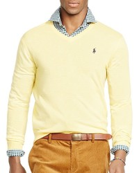 Polo Ralph Lauren Slim Fit Merino V Neck Sweater