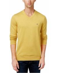 Tommy Hilfiger V Neck Pullover Sweater 865 3xl